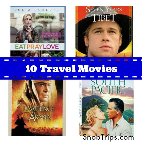10 travel movies to get you inspired