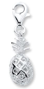 pineapple charm bracelet