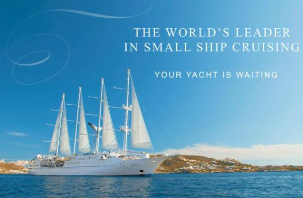 yacht cruising on windstar cruises