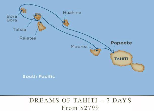 windstar tahiti cruises itinerary