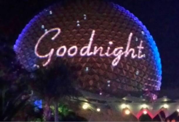 epcot goodnight