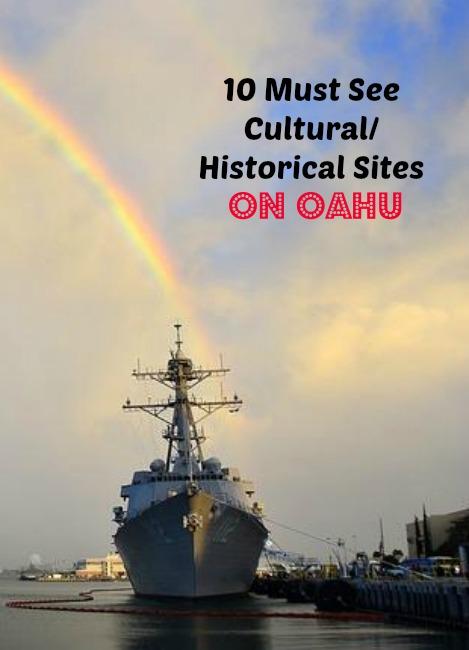 10 historical sites on oahu