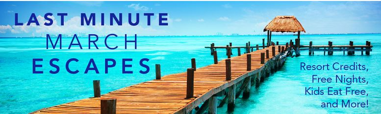 last minute travel deals March 2015