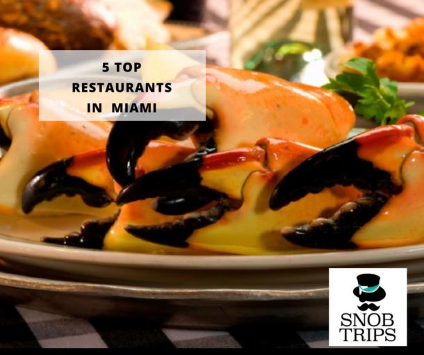top 5 restaurants in Miami