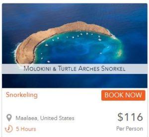 maui snorkeling molokini