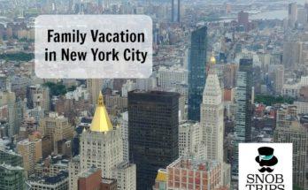 family vacation new york city