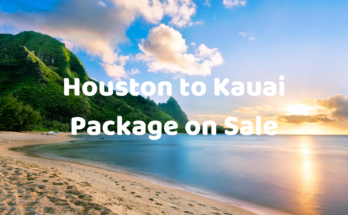 houston to kauai package on sale